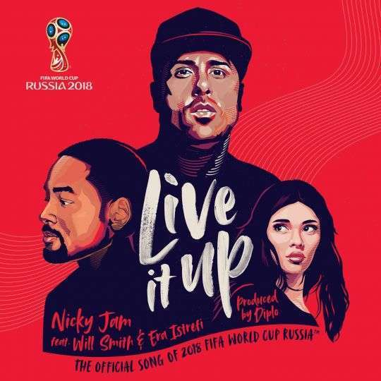 Coverafbeelding Live It Up - Nicky Jam Feat. Will Smith & Era Istrefi