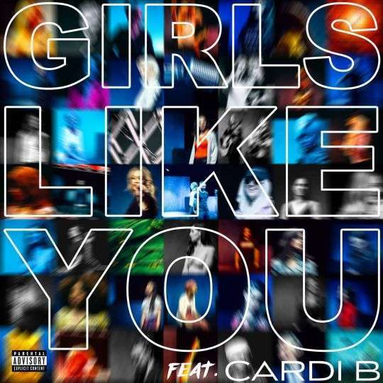 Coverafbeelding Girls Like You - Maroon 5 Feat. Cardi B