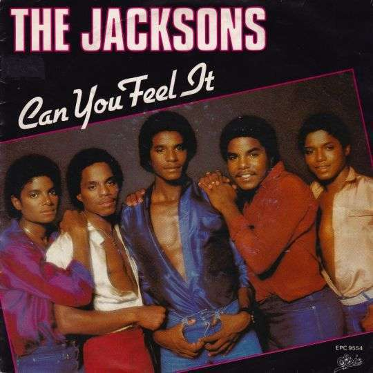Coverafbeelding Can You Feel It - The Jacksons