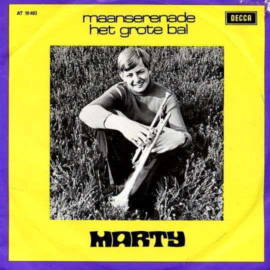 Coverafbeelding Maanserenade - Marty