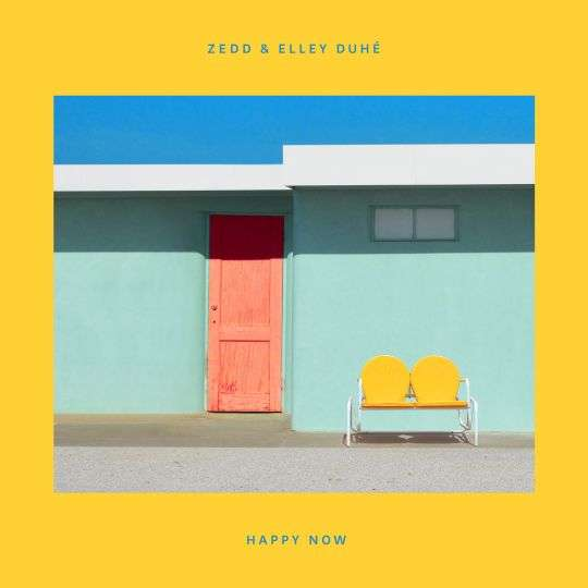 Coverafbeelding Happy Now - Zedd & Elley Duhé