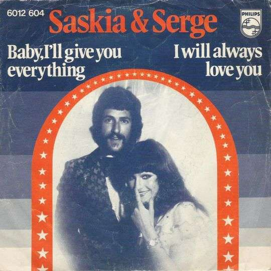 Coverafbeelding Baby, I'll Give You Everything - Saskia & Serge