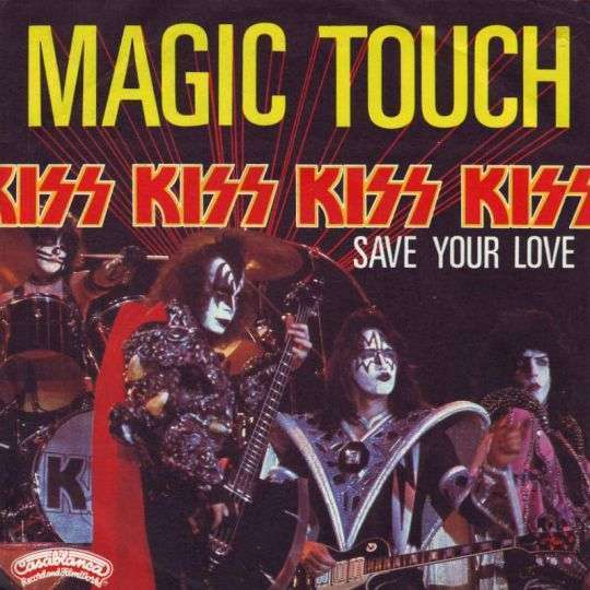 Coverafbeelding Magic Touch - Kiss