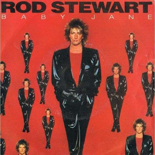 Coverafbeelding Baby Jane - Rod Stewart