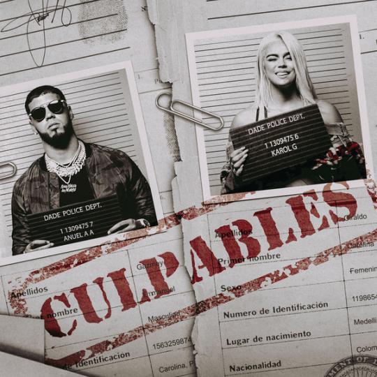 Coverafbeelding Karol G & Anuel Aa - Culpables