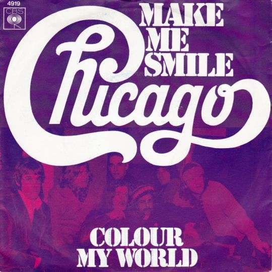 Coverafbeelding Make Me Smile - Chicago