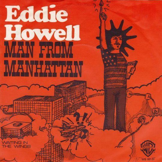 Coverafbeelding Eddie Howell - Man From Manhattan