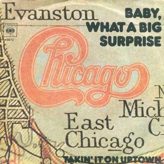 Coverafbeelding Baby, What A Big Surprise - Chicago