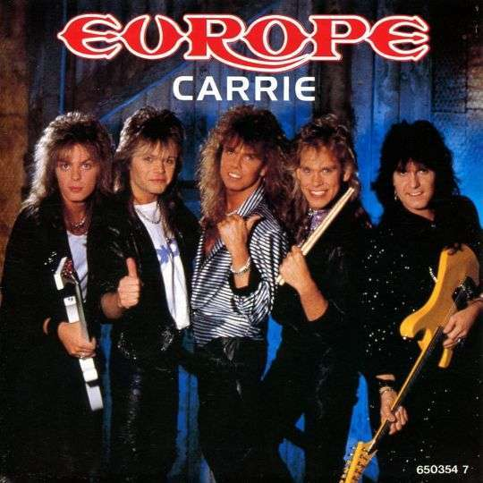Coverafbeelding Europe - Carrie