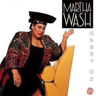 Coverafbeelding Carry On - Martha Wash