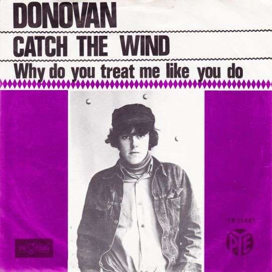 Coverafbeelding Catch The Wind - Donovan