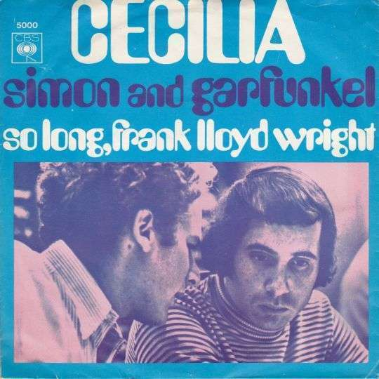 Coverafbeelding Cecilia - Simon And Garfunkel