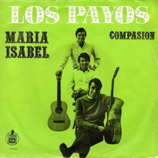 Coverafbeelding Los Payos - Maria Isabel