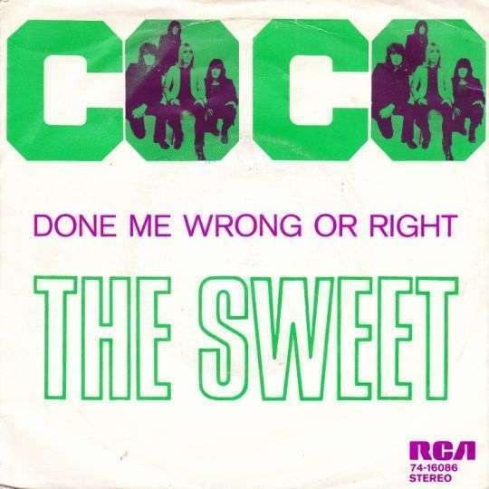 Coverafbeelding Co Co - The Sweet
