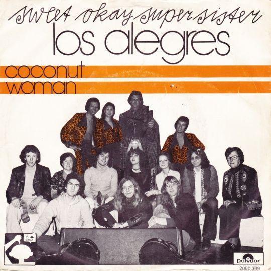Coverafbeelding Coconut Woman - Sweet Okay Supersister & Los Alegres