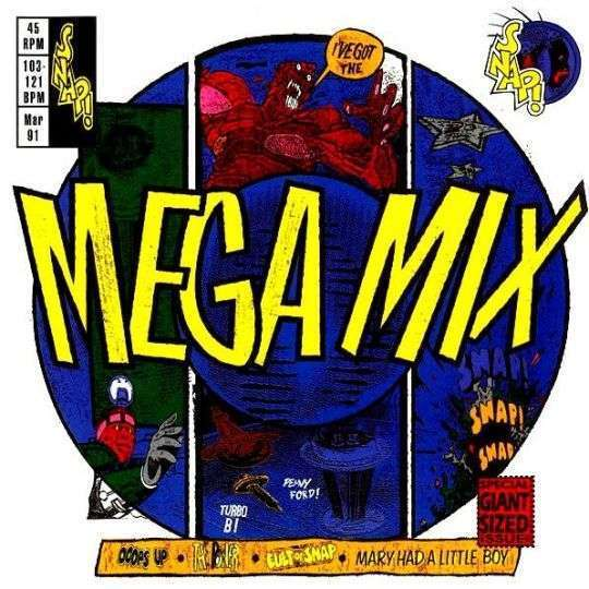 Coverafbeelding Mega Mix - Snap!