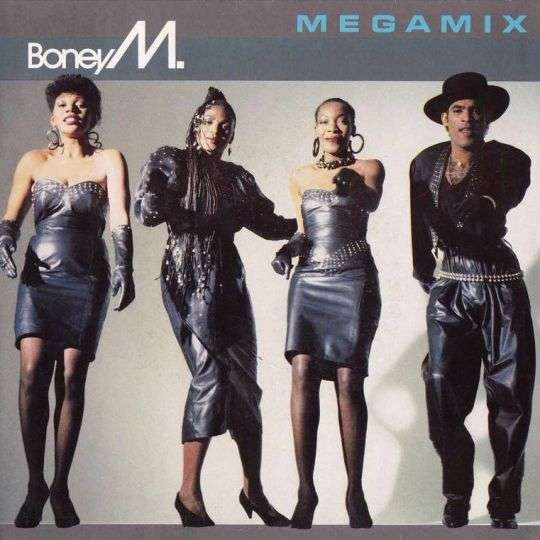 Coverafbeelding Mega Mix - Boney M.