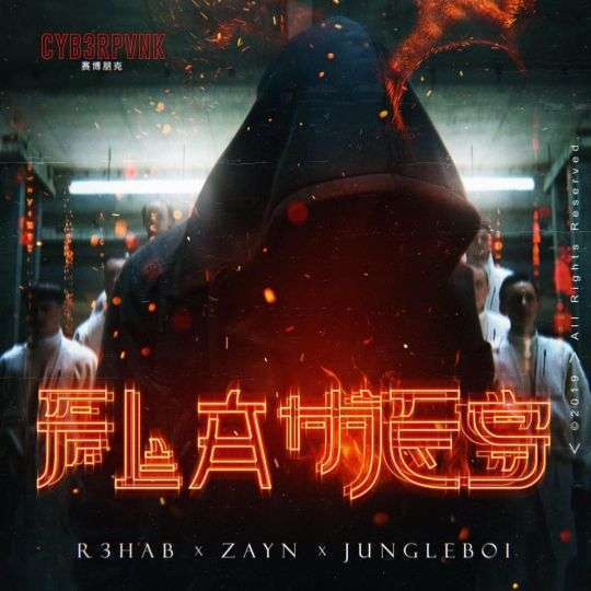 Coverafbeelding Flames - R3hab X Zayn X Jungleboi