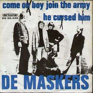 Coverafbeelding Come On Boy Join The Army - De Maskers