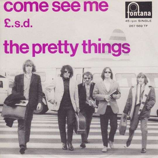 Coverafbeelding Come See Me - The Pretty Things