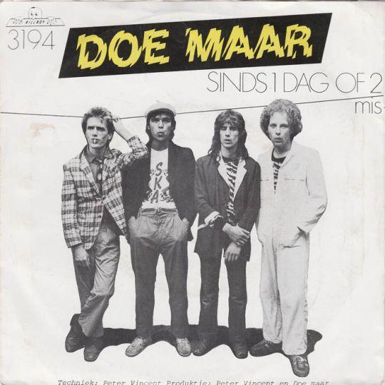 Coverafbeelding 32 Jaar ((1981)) / Sinds 1 Dag Of 2 (32 Jaar) ((1991)) - Doe Maar