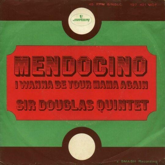 Coverafbeelding Sir Douglas Quintet - Mendocino