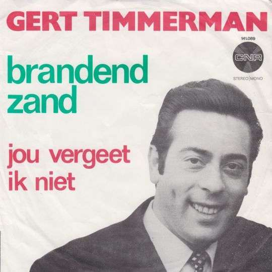 Coverafbeelding Gert Timmerman - Brandend Zand
