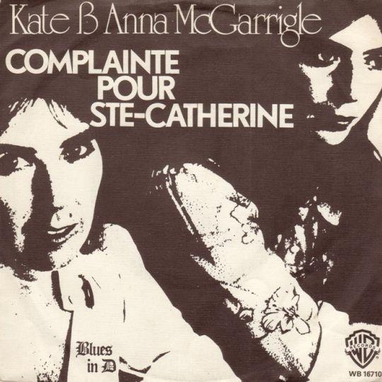 Coverafbeelding Kate & Anna McGarrigle - Complainte Pour Ste-Catherine