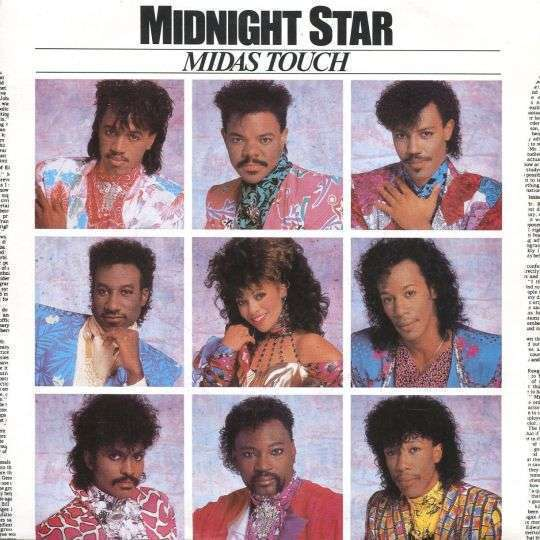 Coverafbeelding Midas Touch - Midnight Star