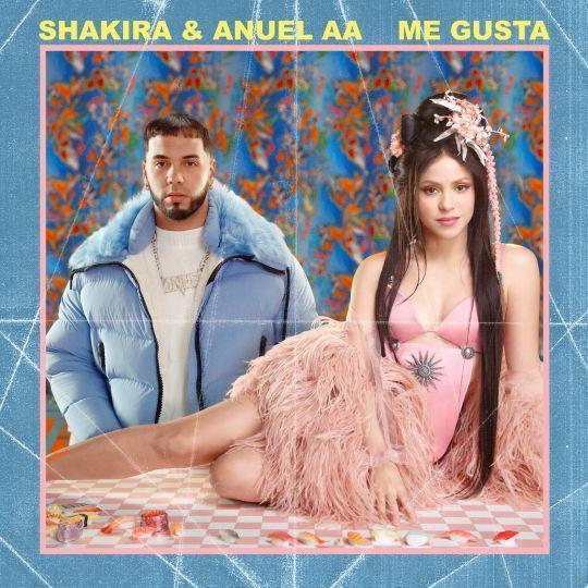 Coverafbeelding Me Gusta - Shakira & Anuel Aa