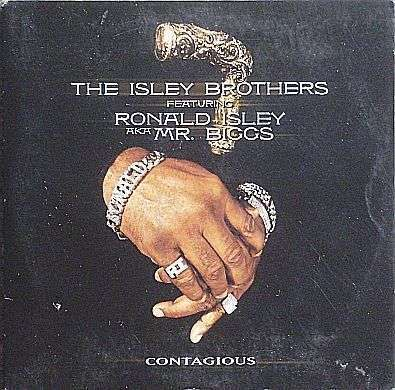 Coverafbeelding The Isley Brothers featuring Ronald Isley AKA Mr. Biggs - Contagious