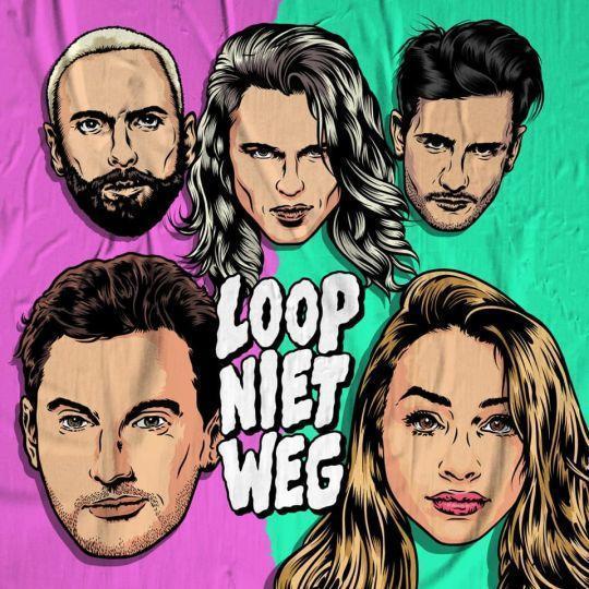 Coverafbeelding Loop Niet Weg - Kris Kross Amsterdam & Tino Martin & Emma Heesters
