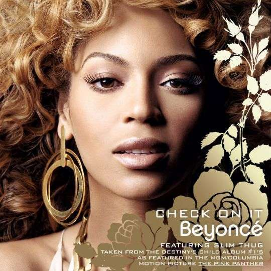Coverafbeelding Beyoncé featuring Slim Thug - Check On It