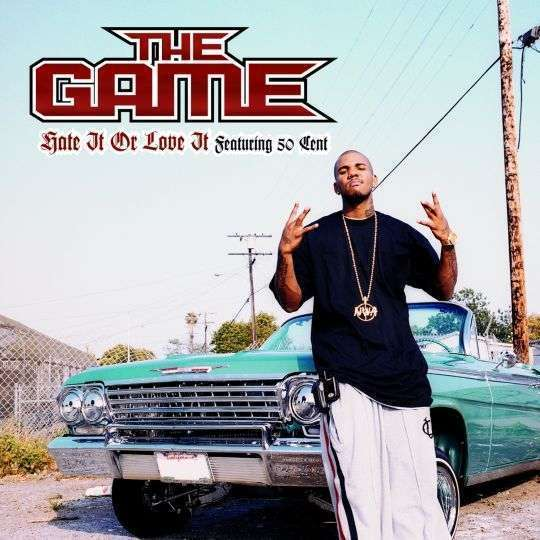 Coverafbeelding The Game featuring 50 Cent - Hate It Or Love It