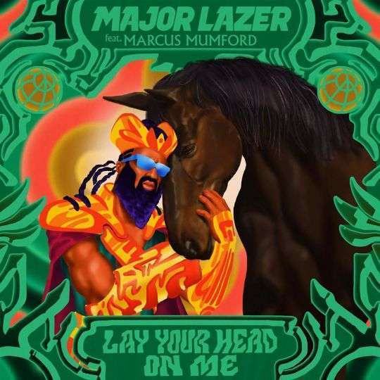 Coverafbeelding Lay Your Head On Me - Major Lazer Feat. Marcus Mumford