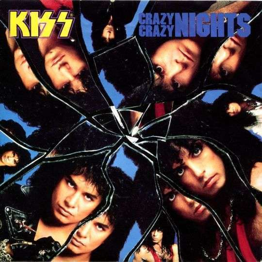 Coverafbeelding Crazy Crazy Nights - Kiss