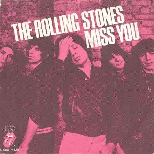 Coverafbeelding Miss You - The Rolling Stones