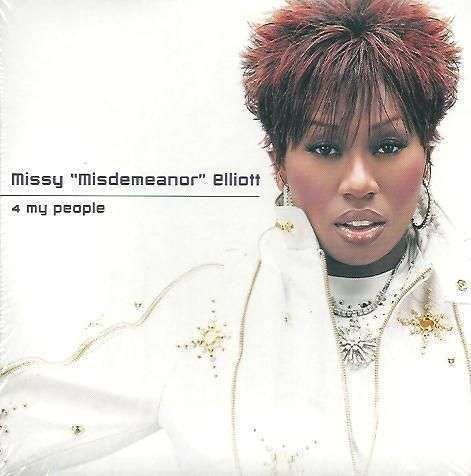 "Coverafbeelding Missy ""Misdemeanor"" Elliott - 4 My People"