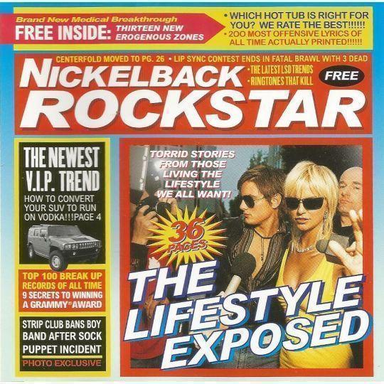 Coverafbeelding Rockstar - Nickelback