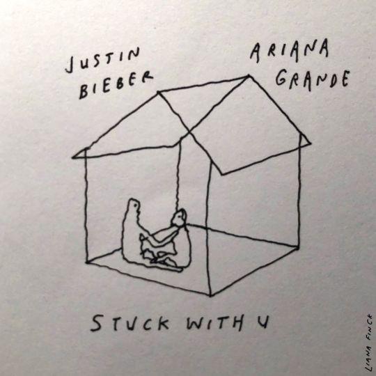 Coverafbeelding Stuck With U - Justin Bieber & Ariana Grande