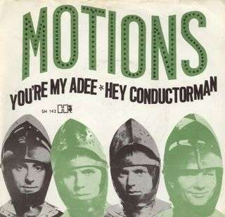 Coverafbeelding You're My Adee - Motions