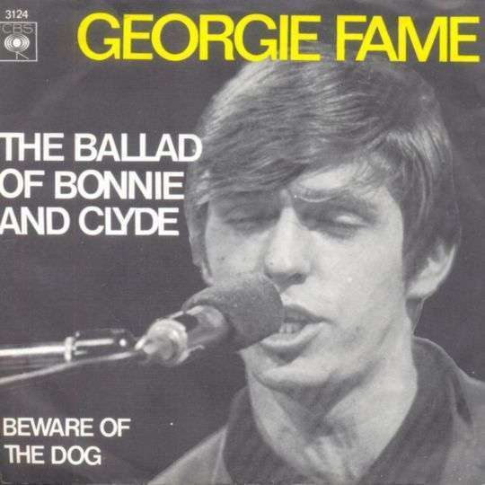 Coverafbeelding Georgie Fame - The Ballad Of Bonnie And Clyde
