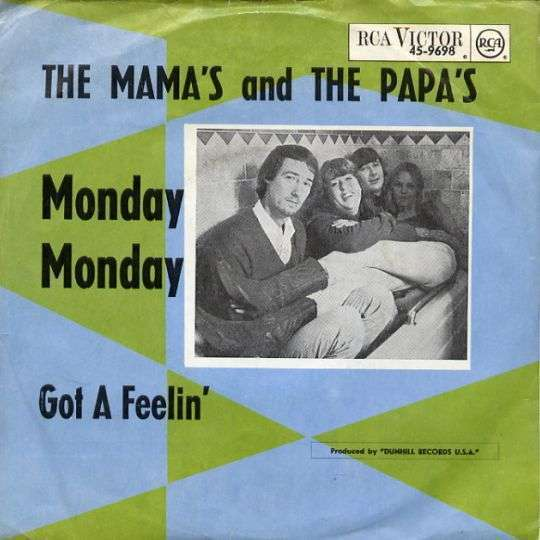Coverafbeelding Monday Monday - The Mama's And The Papa's