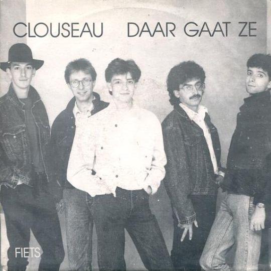 Coverafbeelding Daar Gaat Ze - Clouseau