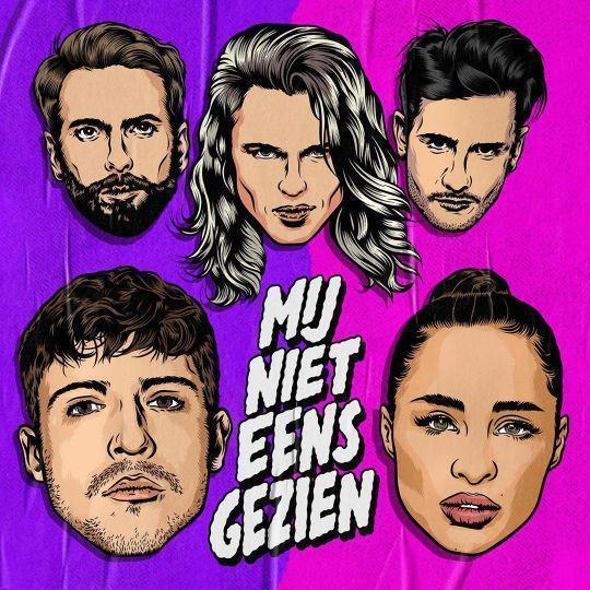 Coverafbeelding Mij Niet Eens Gezien - Kris Kross Amsterdam & Lil Kleine & Yade Lauren