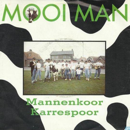 Coverafbeelding Mooi Man - Mannenkoor Karrespoor