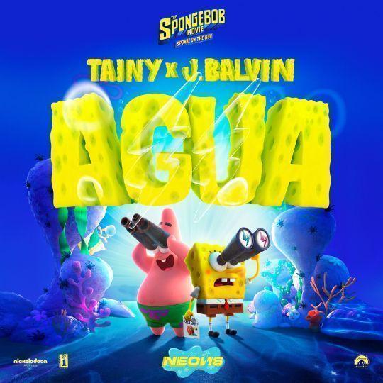 Coverafbeelding Tainy x J.Balvin - Agua