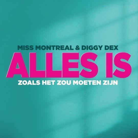 Coverafbeelding Alles Is Zoals Het Zou Moeten Zijn - Miss Montreal & Diggy Dex