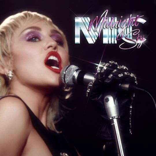 Coverafbeelding Midnight Sky - Miley Cyrus