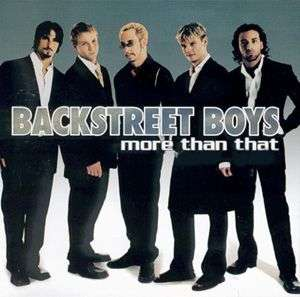 Coverafbeelding More Than That - Backstreet Boys